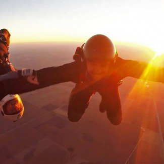 Sunset Hybrid Skydive