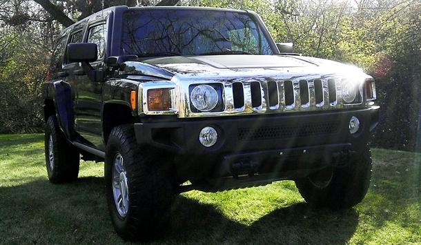 Factory 2006 Black H3 Hummer