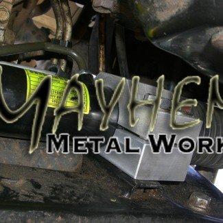Mayhem Metal Works Steering Rack Mount Kit
