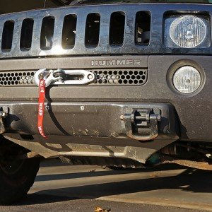 Winch Mount for H3 Hummer