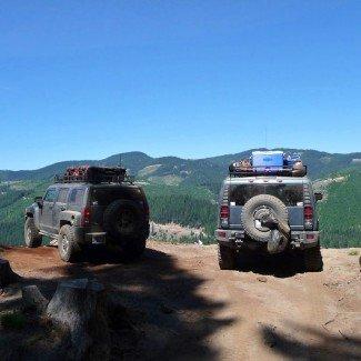 Cascade Range Naches Trail Pass