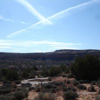 Moab Utah Tip Toe Behind the Rocks