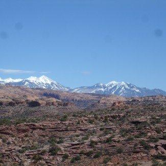 Moab Utah Mountains