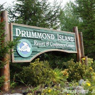 Drummond Island Michigan Sign