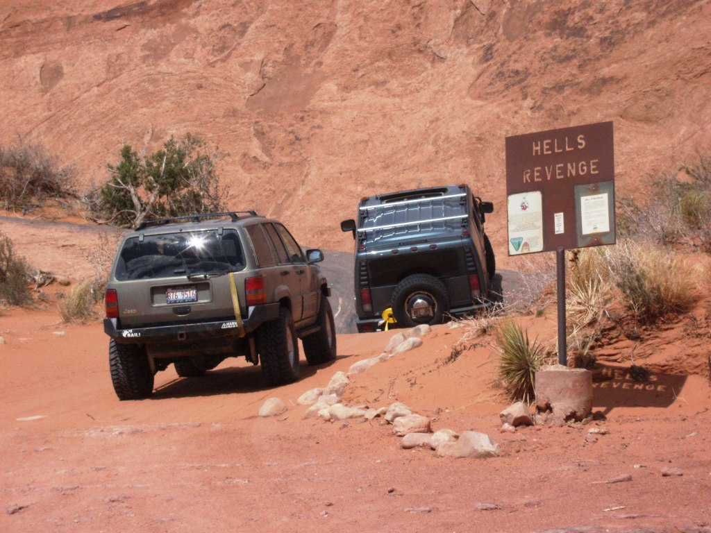 Hell's Revenge Moab Utah