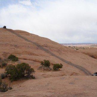 Hell's Revenge off-road trail Moab Utah