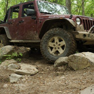 Jeep Rubicon JK Badlands Off-Road Park
