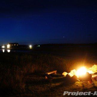 Lake side Night Campfire on Drummond Island