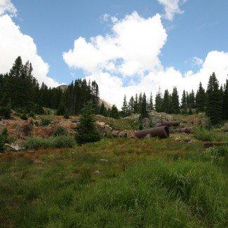 Mining Equipment Holy Cross Trail