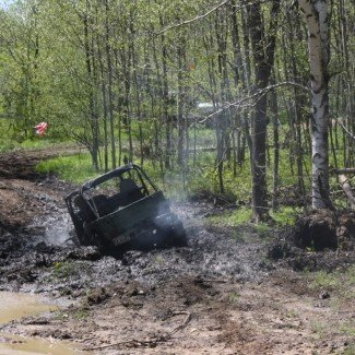 Mudding at Rock and Valleys Off-Road Park