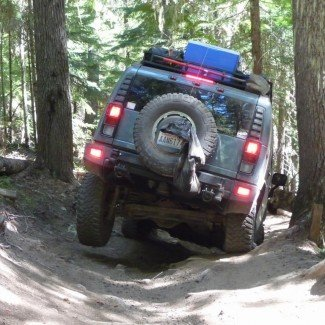 Off-Road Trail Naches Pass