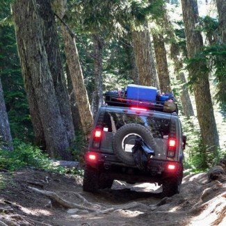 Off-Road at Naches Pass Trail