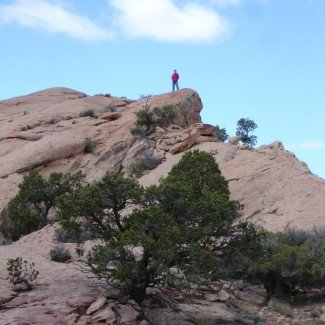 Scenic View Steel Bender Moab Utah