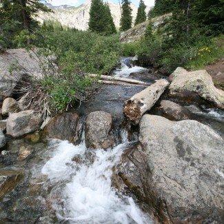 Stream on Holy Cross Trail