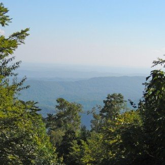 mountain over view 4x4 windrock orv park