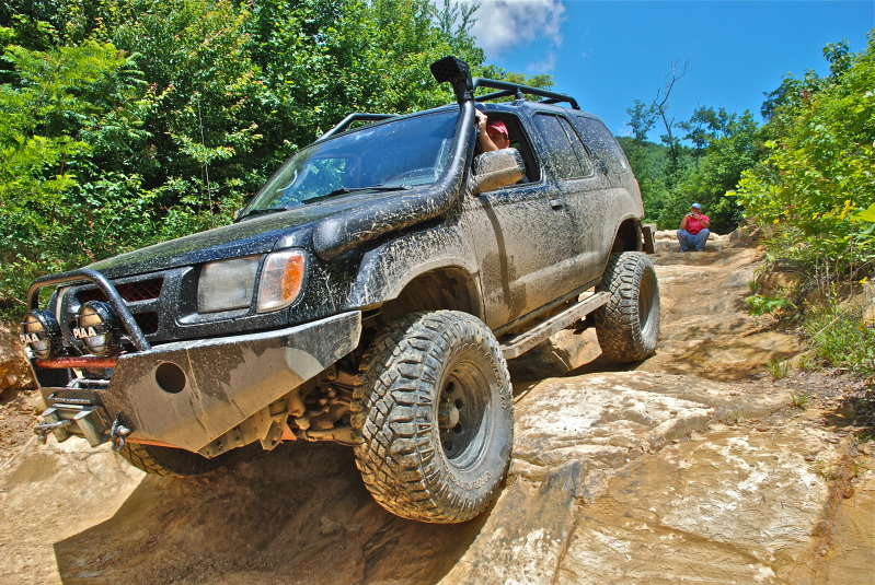 off-road at windrock park tennesse