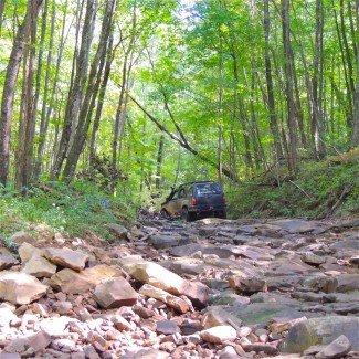 windrock park orv off-road trails