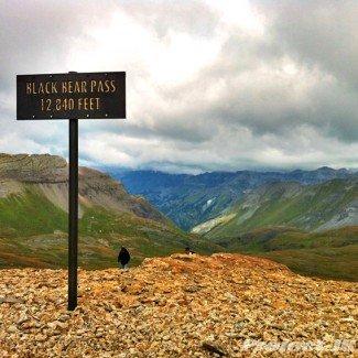 Black Bear Pass Summit 12,840 ft
