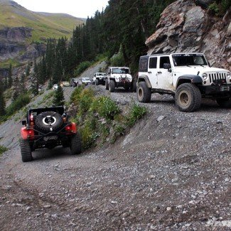 Off-Road Black Bear Pass
