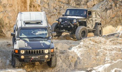 El Paso Mountain Off-Road Hummer Jeep