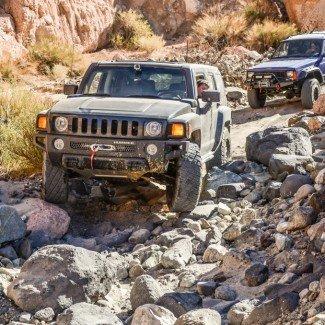 H3 Hummer Mojave Desert Dirt Roads
