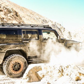 Last Chance Canyon 2015 Hummer H3