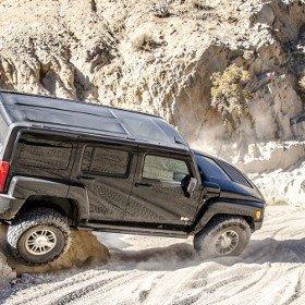 Mojave Desert Last Chance Canyon Hummer H3