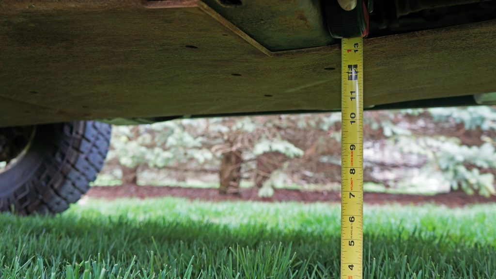 H3 Hummer Ground Clearance Improvement