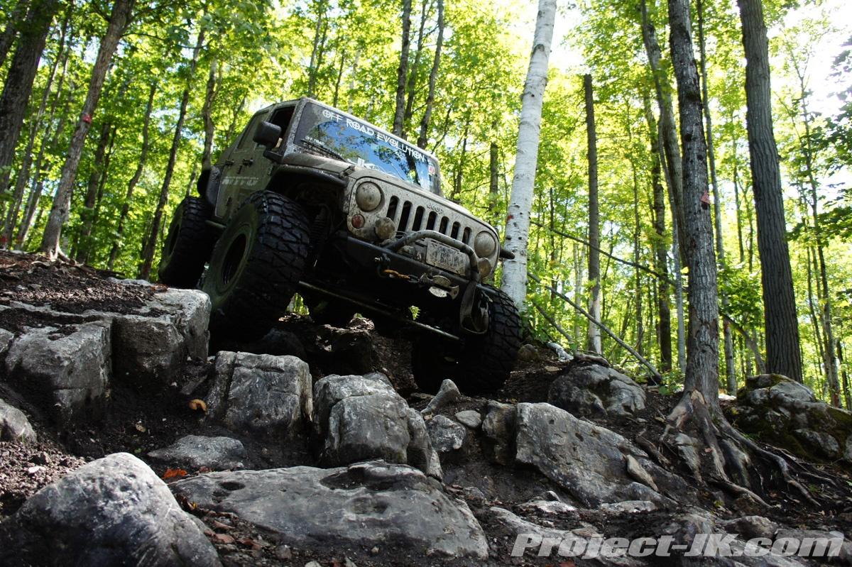 Drummond Island Jeep Trail Map