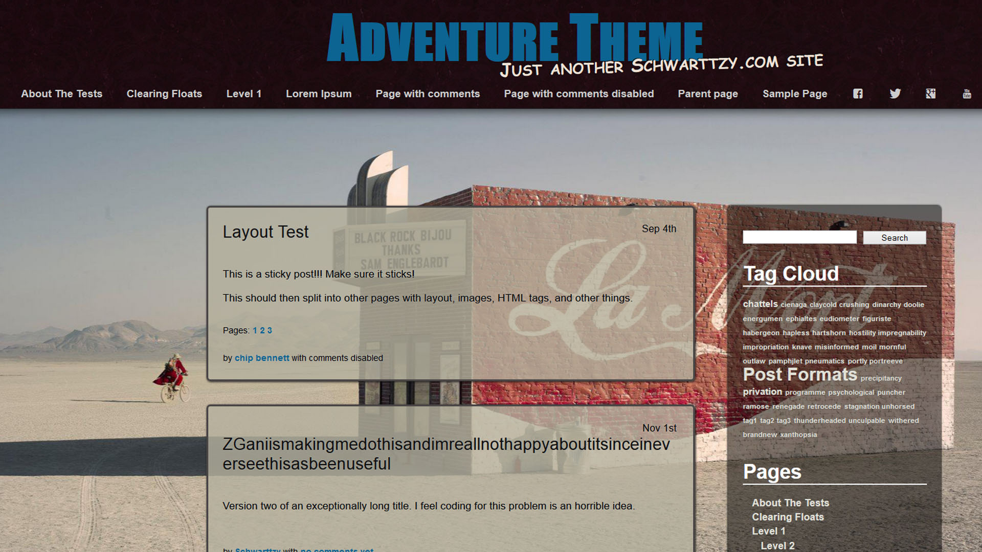News Website Color Theme Old Fashioned