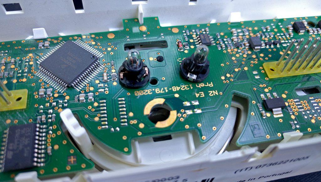 H3 Hummer HVAC GM 15840354 Old Light Bulb on Right Fix Illumination
